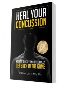 Heal Your Concussion Joanny Liu Best Seller