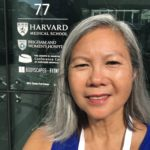 Dr Joanny Outside Harvard Medical School